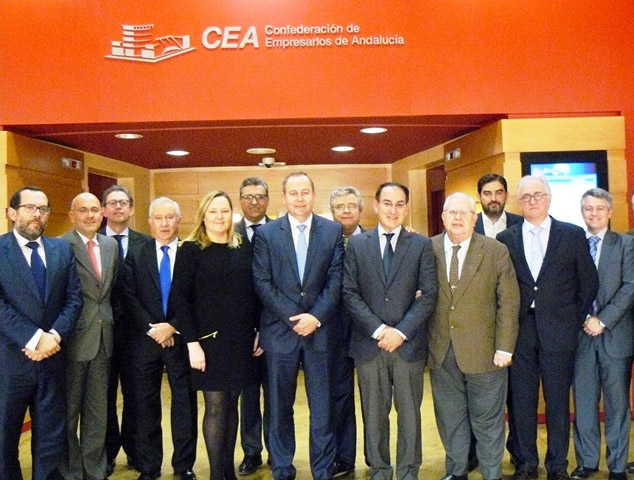 CEA Y CAEA ANALIZAN LAS AMENAZAS LEGISLATIVAS PARA EL SECTOR DE LA DISTRIBUCIÓN ALIMENTARIA EN ANDALUCÍA